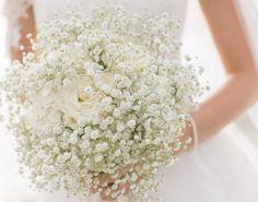 Stunning baby's breath bouquet: http://www.stylemepretty.com/2015/05/16/elegant-beachfront-cape-cod-wedding/… @SummerStPhoto