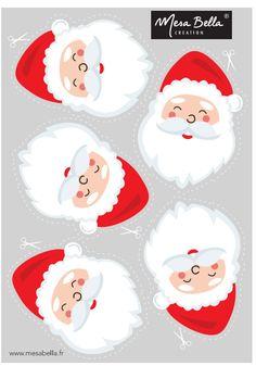 Printable board pere-noel-and-his-hood Woodland Christmas, Christmas Deer, Rustic Christmas, Christmas And New Year, Christmas Time, Christmas Crafts, Xmas, Christmas Tags Printable, Gift Tags Printable