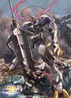 Gathered some mobile phone sized wallpapers from Gundam Cross War card game. … – Online Pin Page Gundam 00, Gundam Wing, Robot Concept Art, Robot Art, Mikazuki Augus, Barbatos Lupus Rex, Robot Wallpaper, Blood Orphans, Gundam Iron Blooded Orphans