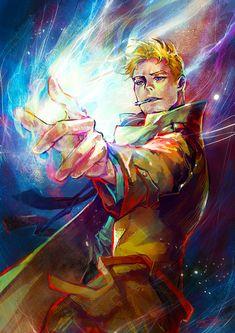 John Constantine by Haining-art.deviantart.com on @deviantART
