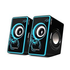 MARVO SG-201 USB 2.0 Powered Multimedia Computer Speakers With Surround Subwoofer Heavy Bass for PC/Laptops/Computer (Blue)