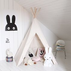MiniWilla - prints & graphic design. play tent with Miffy.