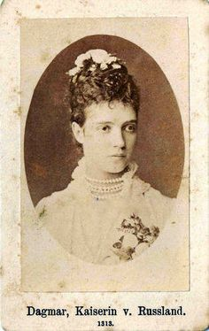 Marie Feodorovna of Russia, nee Princess Dagmar of Denmark, 1847 - 1928, mother of Tsar Nicolas II.