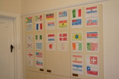 links to printing flags