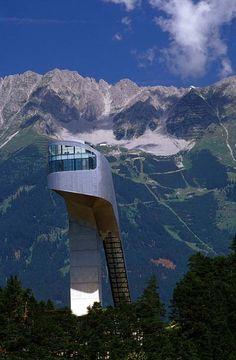 Innsbruck - Bergisel-SchanzeBergisel-Schanze