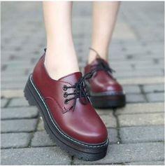 2016 осенью и зимой хлопка мягкие туфли на платформе мода черный старинные шнуровкой сапоги женские плоским пятки мартин сапоги женщин 'ыкупить в магазине MAGMA STOREнаAliExpress