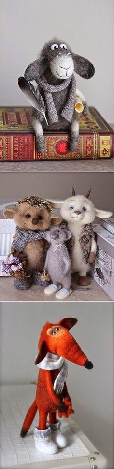 Lovely valyany animals :) Author: Oksana Caccioppoli