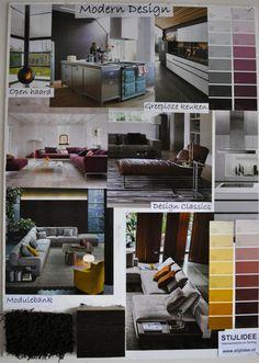 STIJLIDEE Moodboard Woonstijl 2014 Modern Design via www.stijlidee.nl