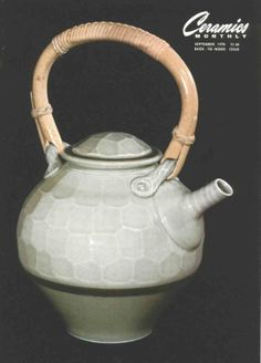 Ceramics Monthly September 1978 Issue Cover, On the Cover: Teapot by Tom Turner