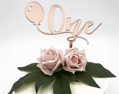 Rose gold confetti mini balloon cake topper with ribbon favour party wedding baby shower birthday Balloons On Sticks, Mini Balloons, Confetti Balloons, Gold Confetti, Birthday Balloons, Balloon Ribbon, Balloon Cake, The Balloon, Gorgeous Cakes