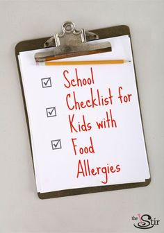 This is a must-read for all parents of school-aged kids with allergies of any kind!