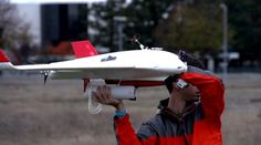 The Burrito Bomber is a flying drone that can take food orders and air drop them at a person's location within minutes.