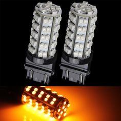 led auto signal light - 68 smd amber 3157 Case of 5