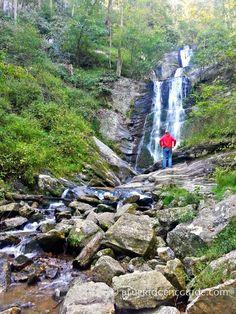 Toms Creek Falls, Marion NC