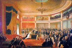 Juramento da Princesa Isabel - Victor Meirelles Artist: Victor Meirelles Completion Date: 1875 Style: Romanticism Genre: history painting