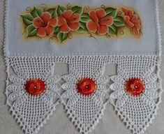 Crochet Diy, Love Crochet, Beautiful Crochet, Crochet Doilies, Hand Crochet, Crochet Borders, Crochet Stitches, Crochet Patterns, Animal Earrings