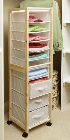 Awesome Websites Canvas Wood Closet Storage Tower Drawers Rolling Wheels Mobile Organizer Shelves Dressing Room Bathroom Laundry Bedroom