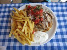 Lagas Aegean Village: Gyros plate for 6.50