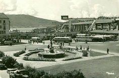 Nordland fylke Narvik Busstasjonen brukt 1958 Utg Mittet