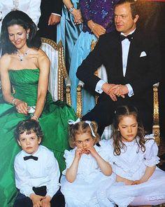 "712 gilla-markeringar, 10 kommentarer - Swedish royal family (@swedish_royal_family) på Instagram: ""King Carl Gustafs 40th birthday 1986"""