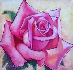 "For Sale: Brides Dream Rose by Teri Rosario | $100 | 8""w x 8""h 