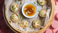 7 dumpling recipes: you'll never eat frozen ones again   Stuff.co.nz Pork And Chive Dumplings, Beef Dumplings, Dumpling Filling, Dumpling Recipe, Scalloped Corn, Red Vinegar, Dinner Party Table, Braised Beef, Tasty