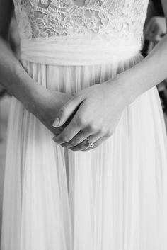 A Homegrown Minnesota Wedding: BHLDN Penelope Gown  Malwitz Photography