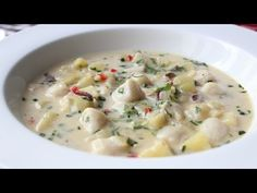 Food Wishes Video Recipes: Bay Scallop Chowder – Looks Good?