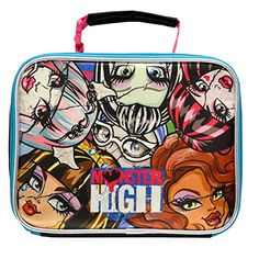 Boden Bags. Mattel Monster High Deluxe Brand New Classic Designed Multicolored Exclusive Kids Eye Catching Ultra-Cool Insulated Lead Safe PVC Free Lunch Bag.  #boden #bags #bodenbags