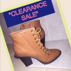 """⚡️⚡️CLEARANCE ⚡️NEW  Boots Size 7 MAKE OFFER Women's Wild Diva Boots Size 7 HEEL HEIGHT APPROX. 3"""" .15% OFF BUNDLES, BUNDLE and Save More. OFFERS CONSIDERED ON ALL ITEMS IN CLOSET Shoes Ankle Boots & Booties"""