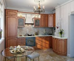 Traditional Medium Woodgolden Kitchen Cabinets #43 Kitchen Extraordinary Kitchen Designs Online Inspiration Design