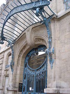 juin 1909, Ferronneries de Louis Majorelle - Chambre de Commerce et d'Industrie de Meurthe et Moselle
