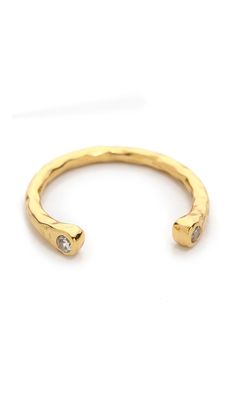 Nebesa Cuff Ring by Gorjana - Found on HeartThis.com @HeartThis | See item http://www.heartthis.com/product/309327917422641201/