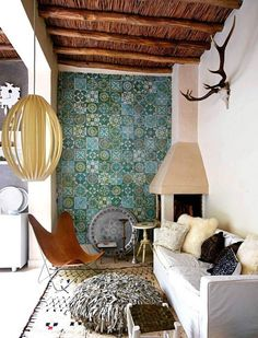 Whether your style is modern, coastal, bohemian or traditional, there are thousands of tiles out there that will suit your modern interiors, and that are a great way to create visual interest and a luxury home decor.