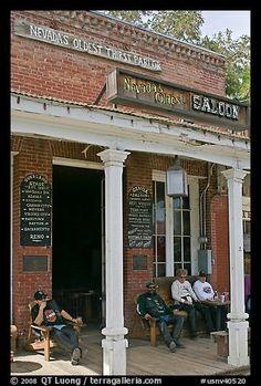 Nevada's Oldest Saloon - Genoa, NV