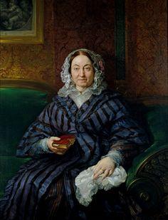 María Francisca de la Gándara, condesa viuda de Calderón - Vicente López