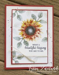 Ready to Make It? A beautiful blessing - Song of My Heart Stampers