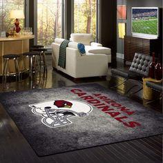 "Arizona Cardinals NFL ""Distressed"" Logo Team Rug"
