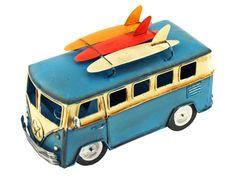 Surfer VW Beach Bus | Iconic Retro Surf Party Decoration