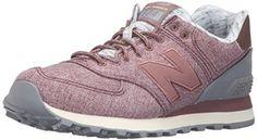 Amazon.com   New Balance Women's 574 Heathered Elegance Fashion Sneaker   Fashion Sneakers