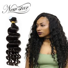 Hair Weaves My Like Pre-colored Raw Indian Loose Deep Wave Bundles 3pcs #2 Indian Loose Deep Human Hair Extensions Non-remy Free Shipping 50% OFF Hair Extensions & Wigs