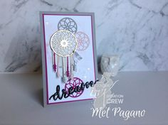 My Paper Oasis - Mel Pagano Stampin Up Independent Demonstrator Berwick Victoria Australia Cricut Cards, Stampin Up Cards, Berwick Victoria, Feather Cards, Scrapbook Cards, Scrapbooking, Marianne Design, Dream Catchers, Stamping Up