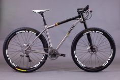 Ritte Stainless steel 29er anyone? Options are (almost) limitless... prices from £1999.99