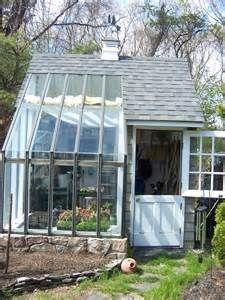 Nice little potting shed.