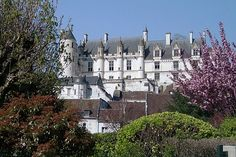 Château de Loches en Indre-et-Loire, France. Royal domain since the twelfth century, the castle of Loches welcomes famous guests, including Joan of Arc , Anne of Brittany and Agnes Sorel . Charles VII's favorite, she made Loches ​​her primary residence and died there in 1450. ©  Jacky MASSAY