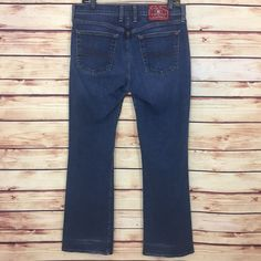LUCKY BRAND Jeans Womens LOW RISE FLARE (12 x 31) OL THUNDER Wash 8C1R020  | eBay