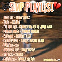 Music Mood, Mood Songs, Rap Music, Music Songs, Heartbreak Songs, Chill Songs, Playlist Names Ideas, Love Songs Playlist, Song Suggestions