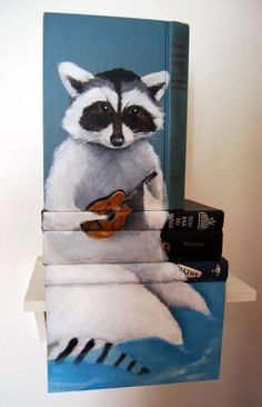mike-stilkey-painted-book-sculptures2
