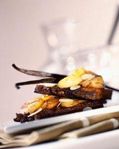 Croque poires et caramel au beurre salé : la recette facile