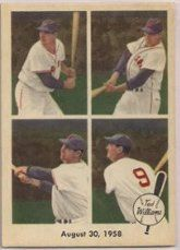 1959 Fleer Regular (Baseball) Card# 65 Ted Williams of the Boston Red Sox VGX Condition by Fleer. $7.60. 1959 Fleer Regular (Baseball) Card# 65 Ted Williams of the Boston Red Sox VGX Condition